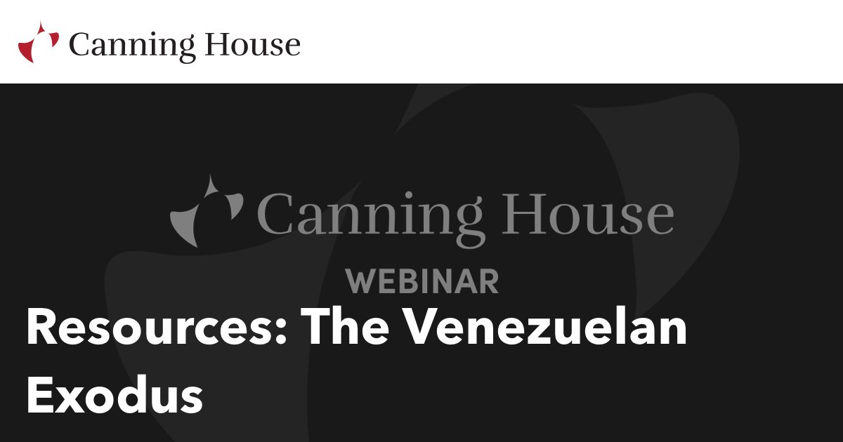 The Venezuelan Exodus